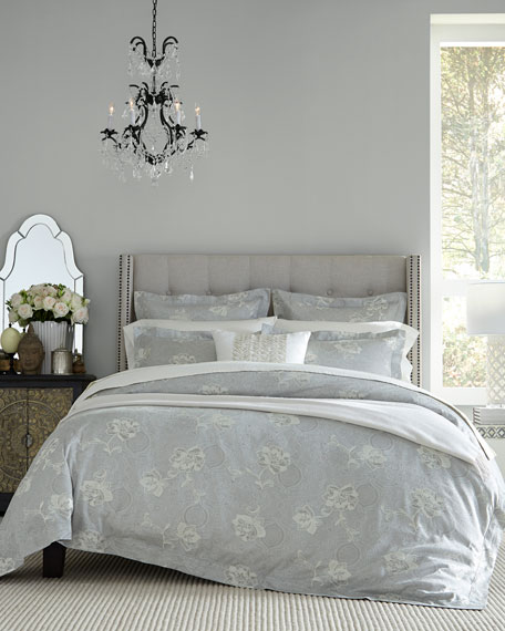 Floral Bloom Jacquard King Sham