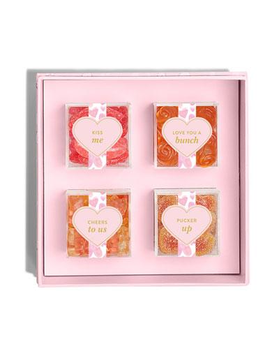XOXO Candy Bento Box, 4 Flavors