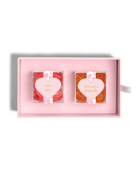 Sugarfina XOXO Candy Bento Box, 2 Flavors