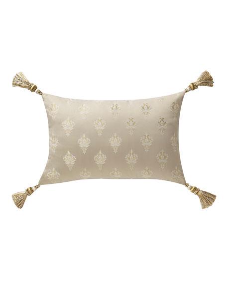 "Waterford Annalise Breakfast Decorative Pillow, 12"" x 18"""