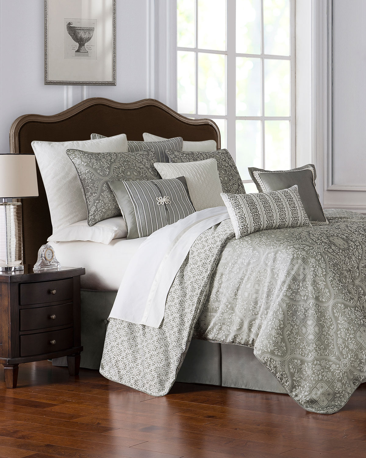 Wedding Gift Stores Nyc: Waterford Celine Queen Comforter Set