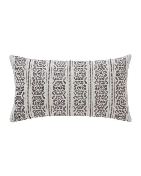 "Waterford Celine Breakfast Decorative Pillow, 11"" x 20"""