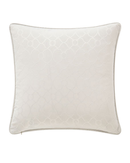 """Waterford Celine Square Decorative Pillow, 18""""Sq."""