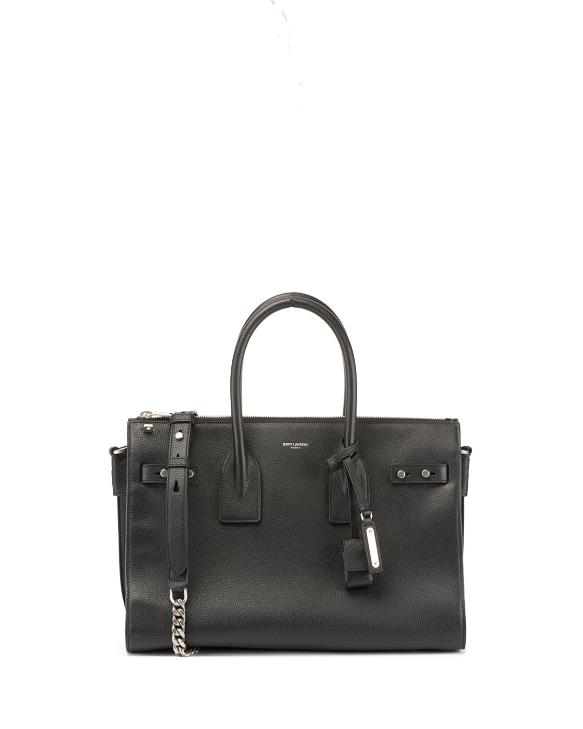 27ed936d7d00 Saint Laurent Sac de Jour Small Supple Leather Duffel Bag