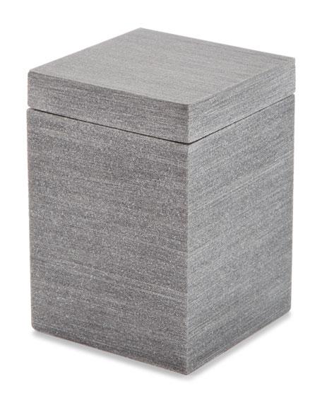 Kassatex Slate Cotton Jar