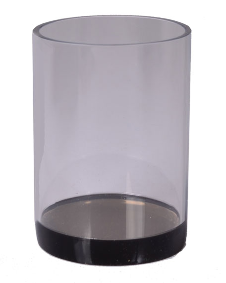 Mike & Ally Smoked Ice Lucite Tumbler