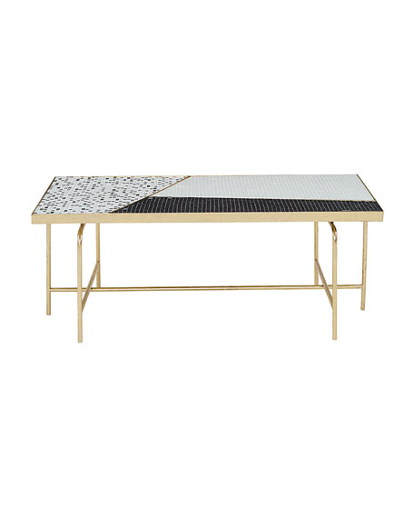 Dina Mosaic Tile Coffee Table