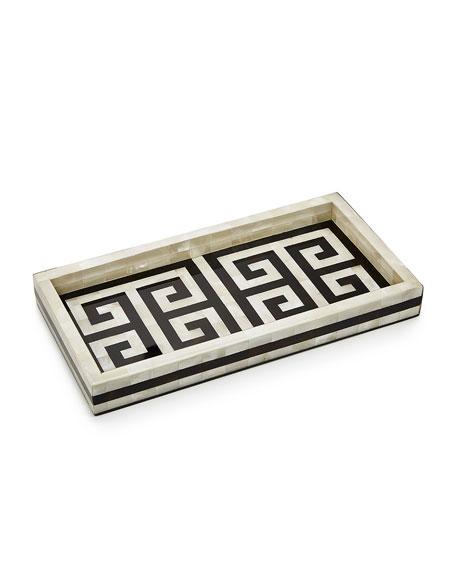 Labrazel Greek Key Tray