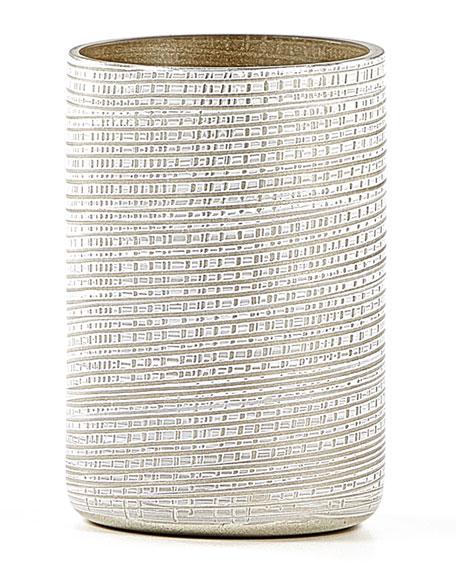 Labrazel Woven Brush Holder, Platinum