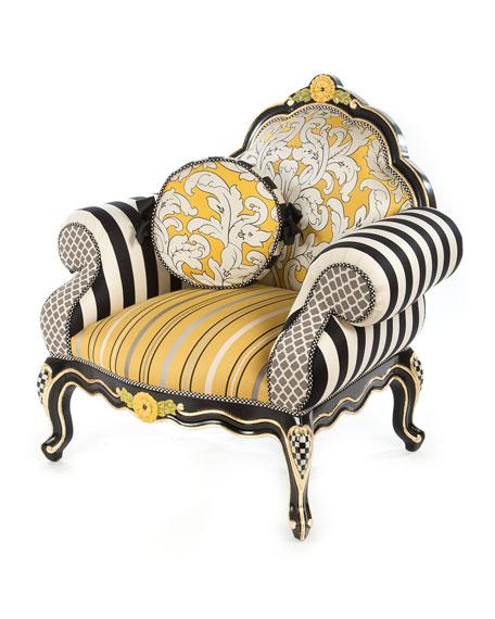 MacKenzie-Childs Queen Bee Chair