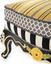 MacKenzie-Childs Queen Bee Ottoman