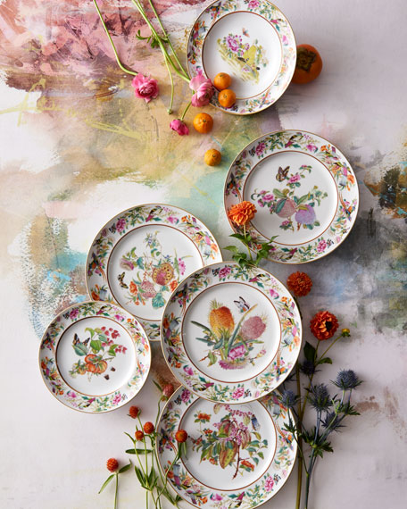 Vista Alegre Paco Real Lotus Soup Plate
