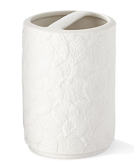 Michael Aram Botanical Leaf Toothbrush Holder