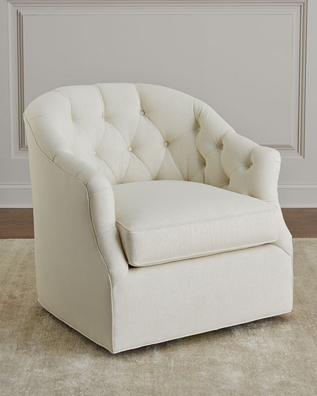 Merci Tufted Swivel Chair