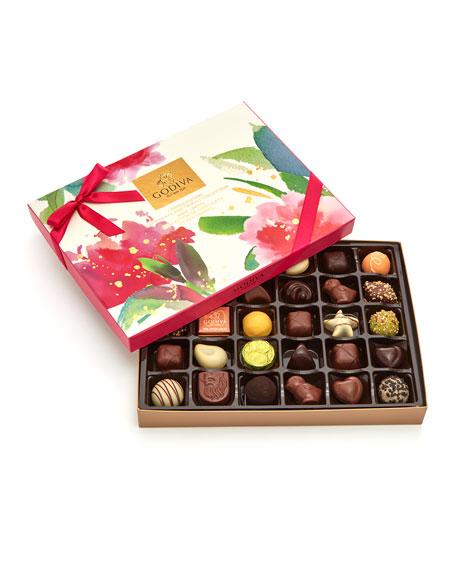 Godiva Chocolatier 32-Piece Spring Chocolate Truffle Easter Gift