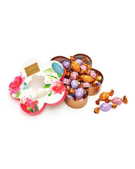 Godiva Chocolatier 32-Piece Individually Wrapped Flower Chocolate