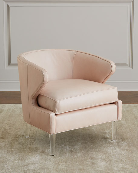 Isadora Leather Accent Chair