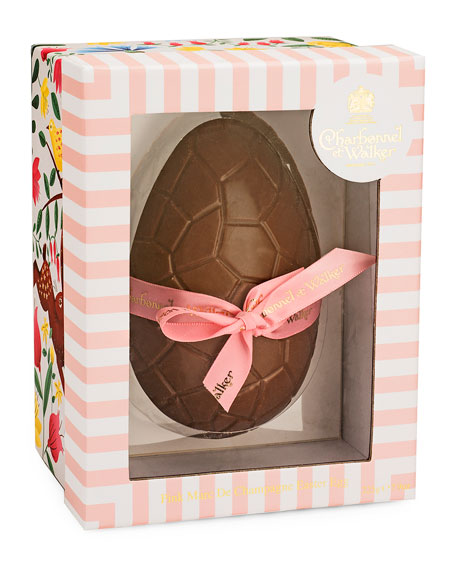Charbonnel Et Walker Pink Chocolate Egg with Marc