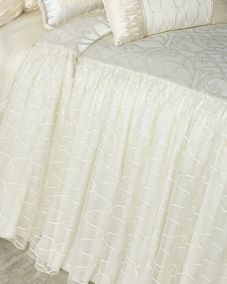 Dian Austin Couture Home Wedding Bliss Queen Coverlet