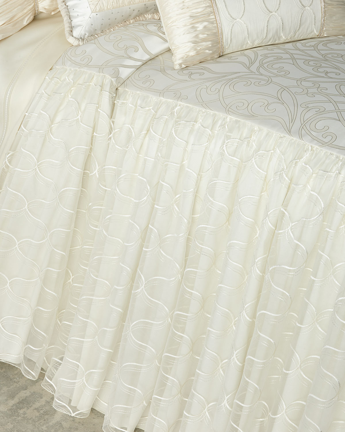 Dian Austin Couture Home Wedding Bliss Queen Coverlet and ...