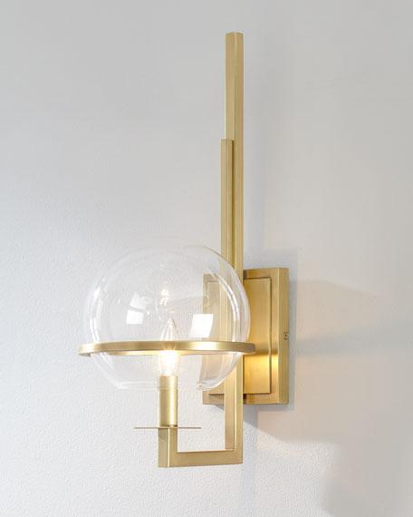 Regina Andrew Design Saturn Natural Brass Sconce