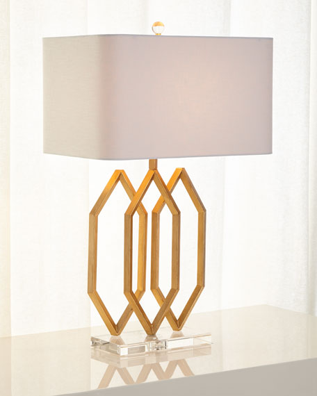 Image 2 of 2: Prescott Triple Table Lamp