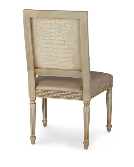 Massoud Alessandro Leather Dining Chair