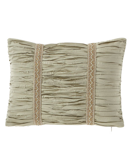 "Austin Horn Collection Laurel Boudoir Pillow, 12"" x 16"""