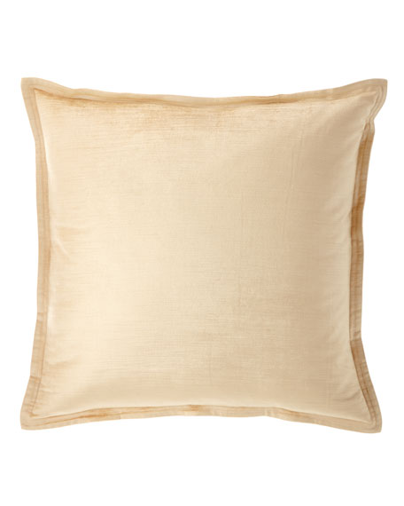Donna Karan Home Velvet Decorative Pillow
