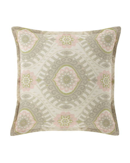 """Isabella Collection by Kathy Fielder Lisette Pillow, 18""""Sq."""