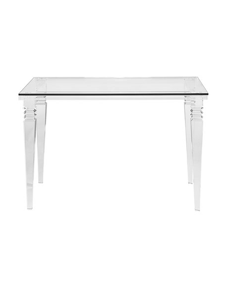 Interlude Home Christelle Acrylic Writing Desk