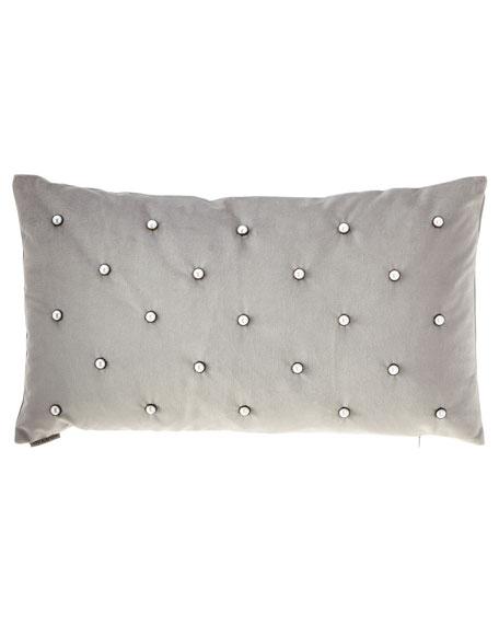 D.V. Kap Home Pearlesque Glacier Lumbar Pillow