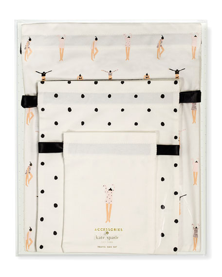 kate spade new york travel bag getting dressed set