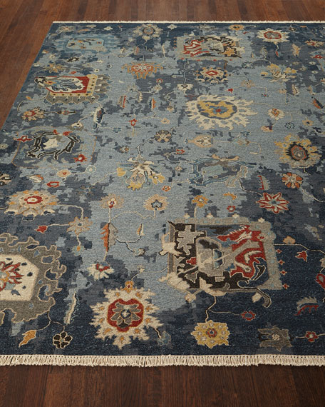 Briley Soumak Weave Hand-Knotted Rug, 8' x 10'