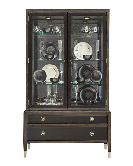 Image 2 of 2: Bernhardt Clarendon China Cabinet