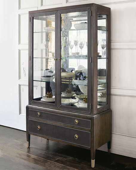 Image 1 of 2: Bernhardt Clarendon China Cabinet