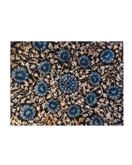 Painted Glass Lace Mirror Placemat