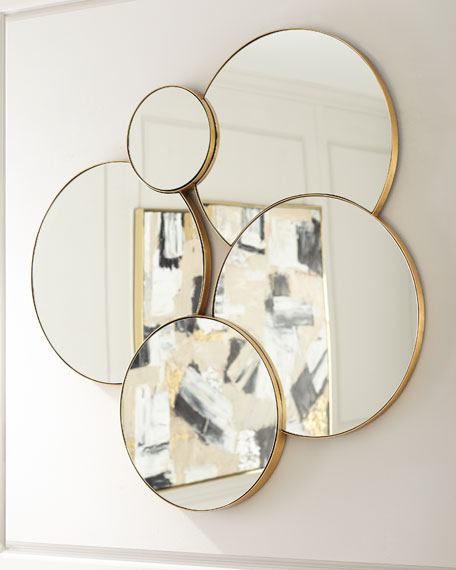 Image 2 of 2: Calista Wall Mirror