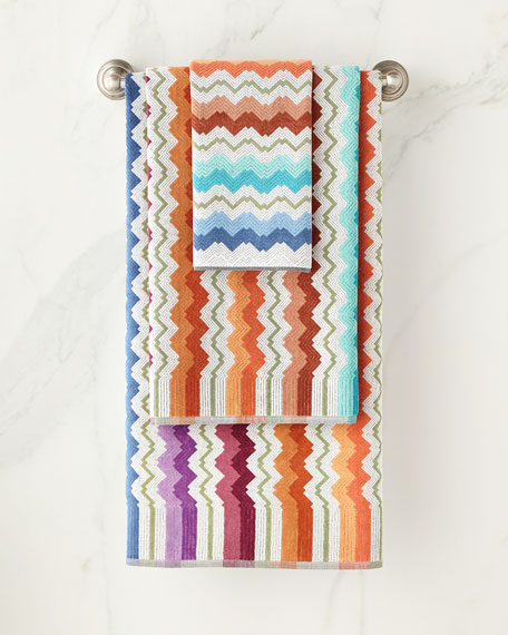 Missoni Home Vasilij Bath Sheet and Matching Items