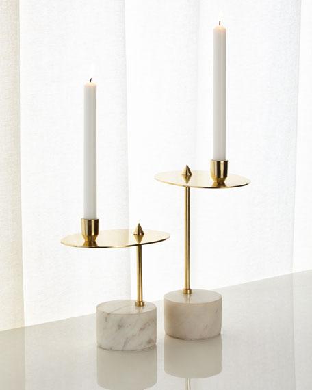 Counter Balanced Candleholders, Set of 2
