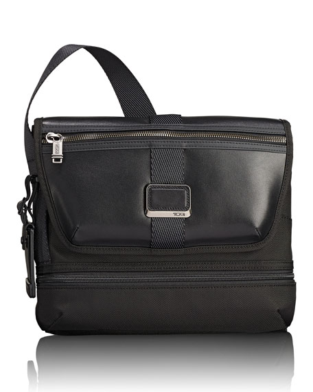 Image 1 of 4: Travis Crossbody Bag, Black