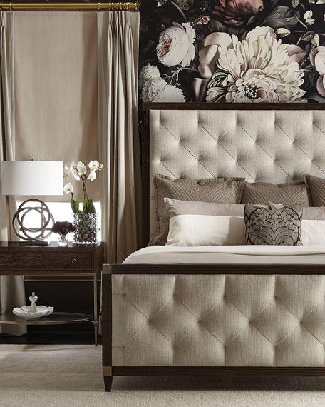 Bernhardt Clarendon Tufted King Bed