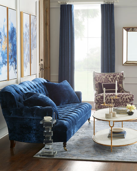 Image 2 of 5: Massoud Orchid Park Wing Chair