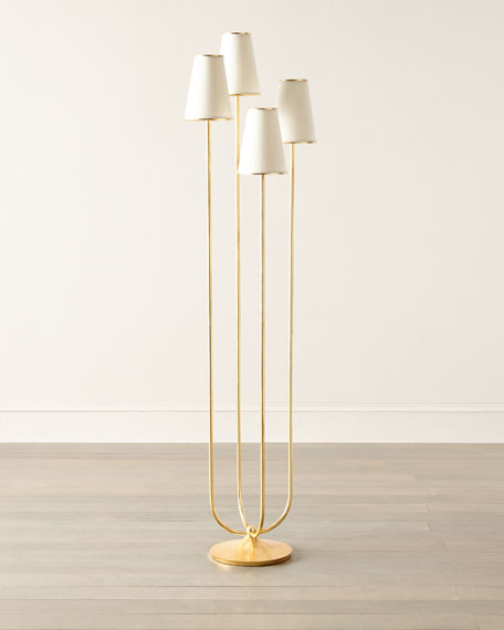 Image 1 of 2: AERIN Montreuil Floor Lamp