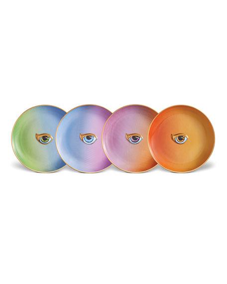 Lito Canape Assorted Plates, Set of 4