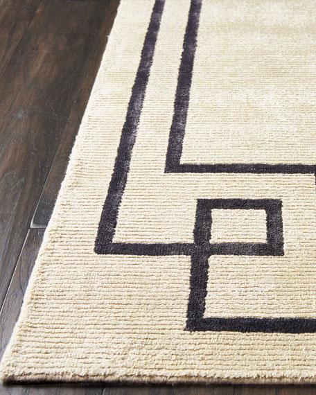 Christopher Guy Finesse Mediterranean Sand Hand-Knotted Rug, 8' x 10'