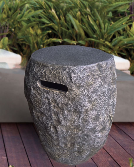 Stone Gas Tank Cover
