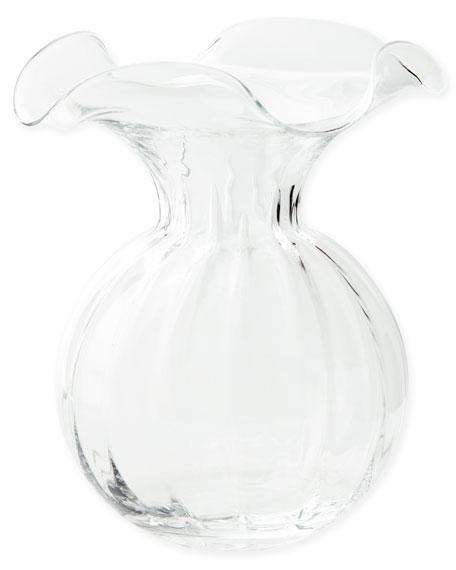 Vietri Hibiscus Large Fluted Vase