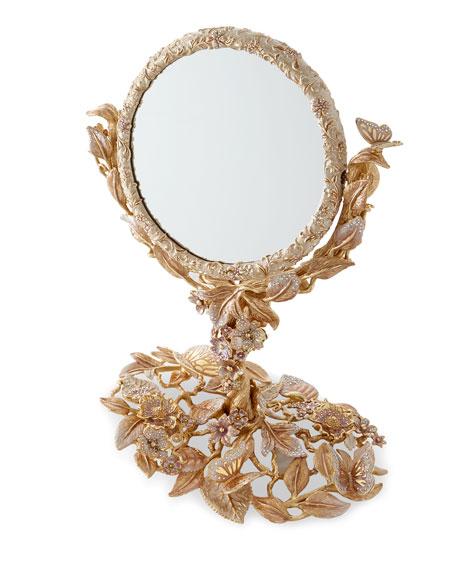 Jay Strongwater Boudoir Flip Mirror