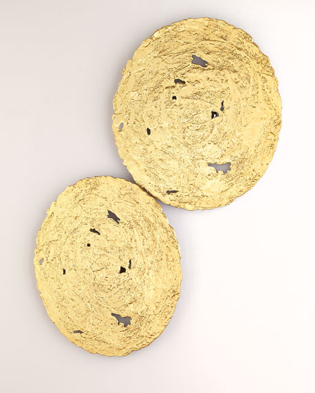 The Phillips Collection Medium Gold Circle Wall Decor
